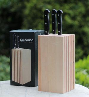 Designer Messerblock von Scanwood